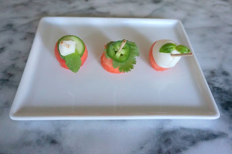Watermelon Hors D'Oeuvres