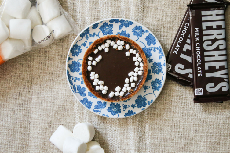 S'mores Chocolate Tart