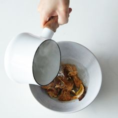A Tip for Making Dried Mushrooms Silkier & Plumper