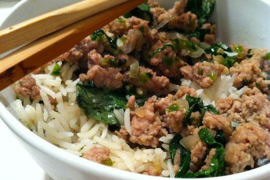 Thai turkey and rice