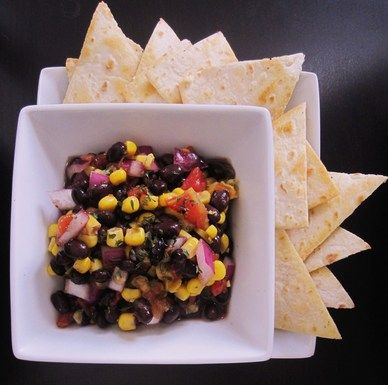 Alabama salsa and chips