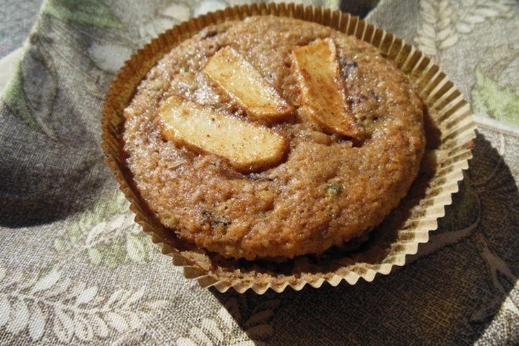 Apple Zucchini Spice Muffins