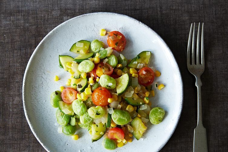 Vegan Summer Succotash from Food52