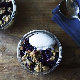 Blueberry Almond Breakfast Polenta Recipe on Food52