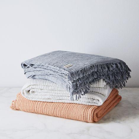 Wabi Sabi Cotton Crinkle Bedspread
