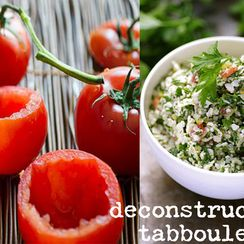 Deconstructed Tabbouleh