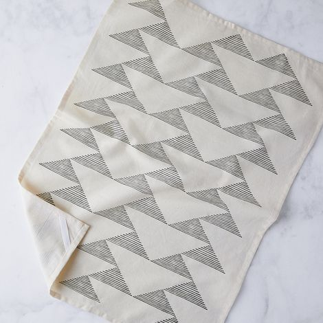 Hand Printed Cotton Kitchen Towel