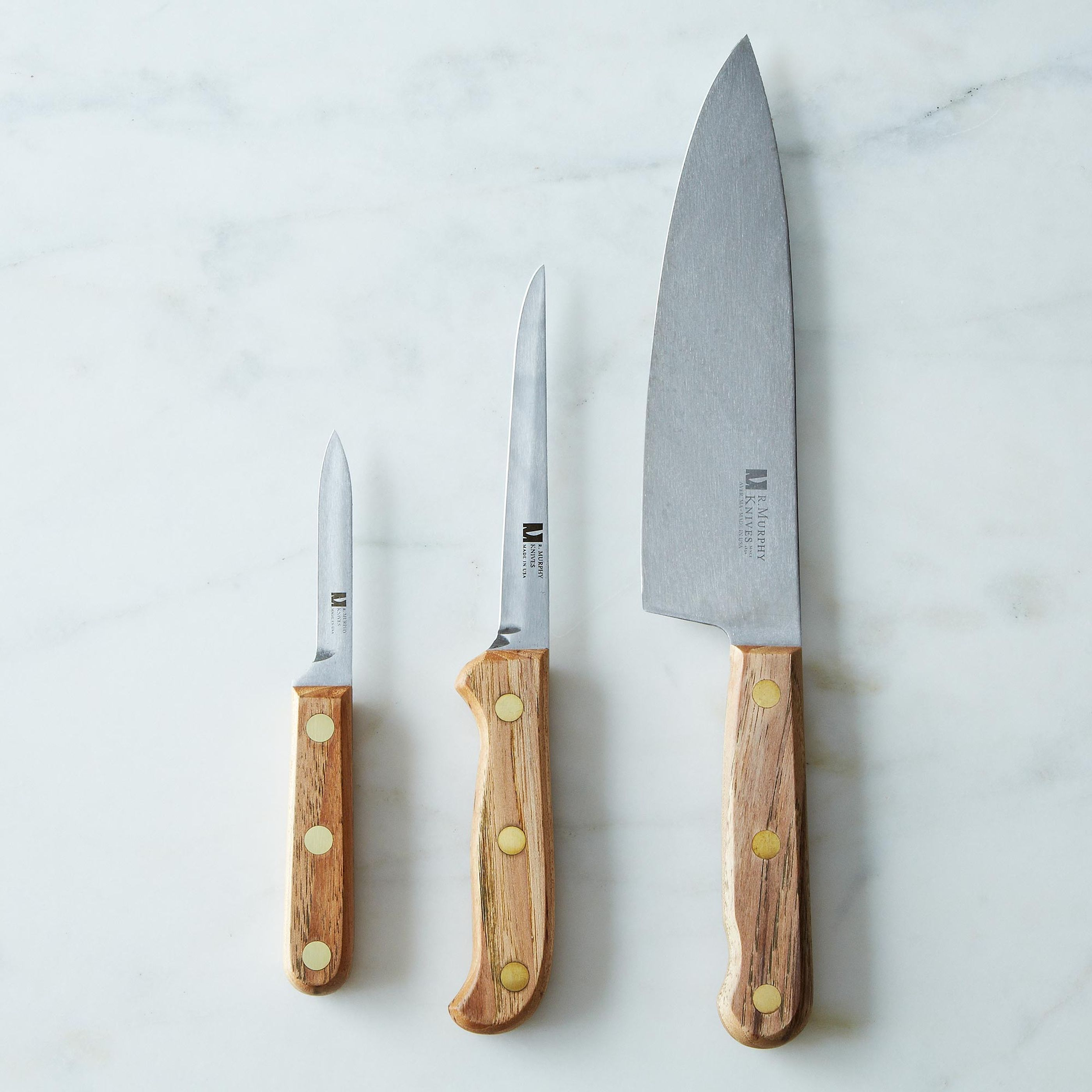 R. Murphy Reclaimed Wood Carbon Steel Knife on Food52