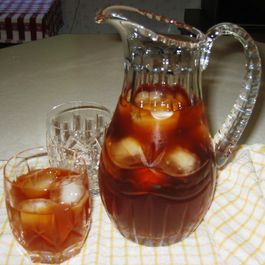 Chocolate-Vanilla Caramel Iced Tea