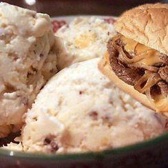 Philadelphia Cheese Steak Ice Cream