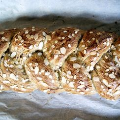 Pear and Almond Sweet Bread