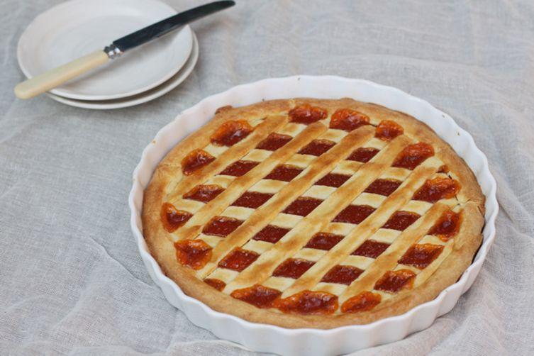 Apricot Jam Crostata (Crostata di Marmellata)