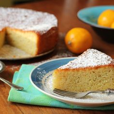 Luscious Lemon, Almond Flour and Olive Oil Cake
