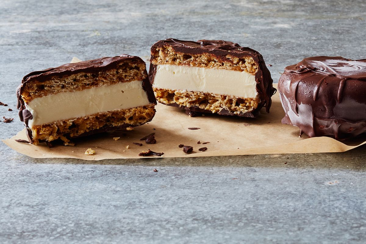 How to Make Chocolate-Covered Ice Cream Sandwiches