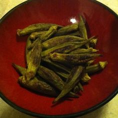 Roasted Okra with Cumin