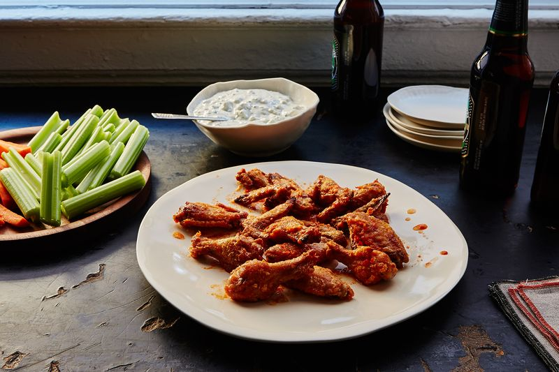 Not your bartender's chicken wings.