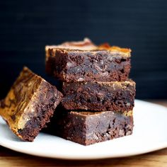 Two Pumpkin Brownies, for Whether You Like or Love Pumpkin