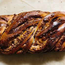 Stop, Drop & Roll Up This Nutella-Halvah Babka
