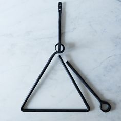 Hand-Forged Triangle Dinner Bell