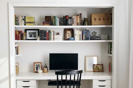 How to Turn a Closet Into an Office (a Cloffice!)