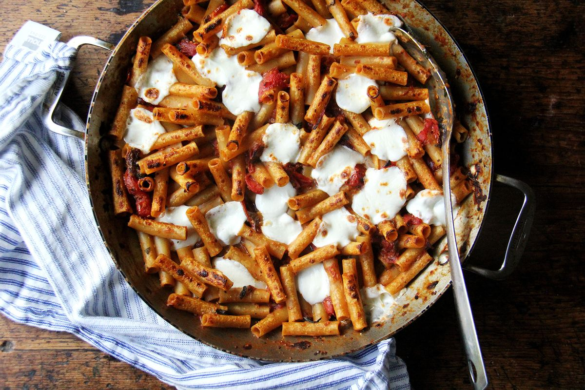 The 1 Pan 3 Step Route To Baked Ziti