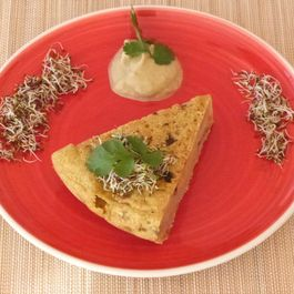 vegan Chickpea Spanish Tortilla