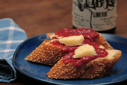 Spicy Raspberry Mostarda