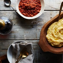 Polenta by Jeannie'sgoodhomecooking