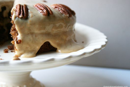 Parsnip & Pecan Cake with Cashew Cream Frosting