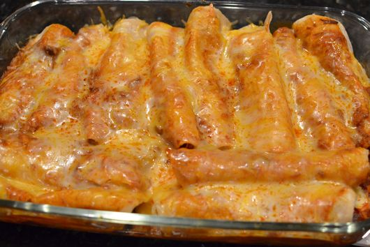 Mini Chicken Cheesy Enchiladas