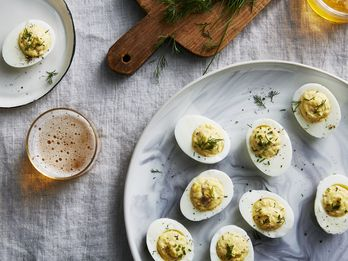 A Smoky, Savory, Egg-y Last-Minute Appetizer