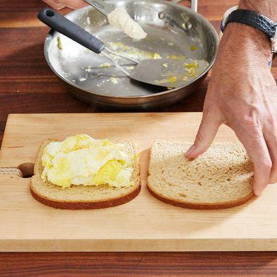 Weekend Broken-Yolk Fried Egg Sandwich