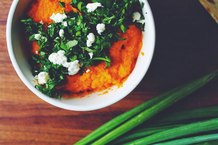 Smokey Carrot Hummus
