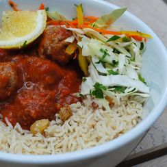 Knock-off Leon Moroccan Meatballs