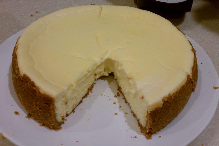 Clementine Almond Cheesecake