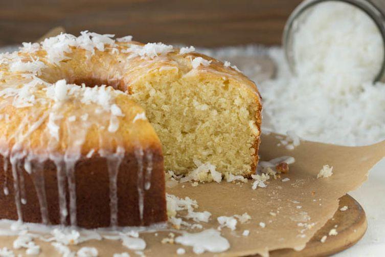 Coconut Pound Cake with Coconut Glaze Recipe on Food52