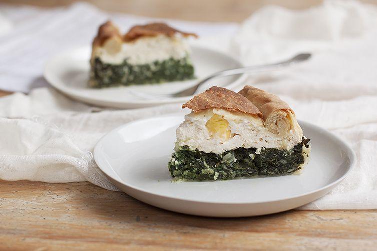 Torta Pasqualina (Easter Chard and Ricotta Pie)