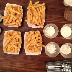 Burgers, Shakes, and Fries for Lunch