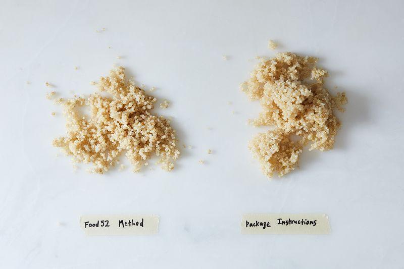 All the fluff versus a bit of mush.