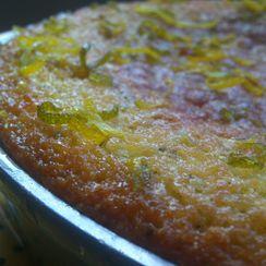 Lemon and Rosemary Cake with Citrus Glaze