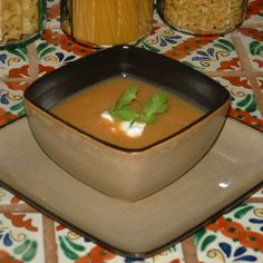 Carrot, Chile and Cilantro Soup