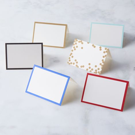 Border Paper Place Cards (Set of 60)
