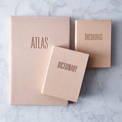 Vachetta Leather-Bound Reference Books