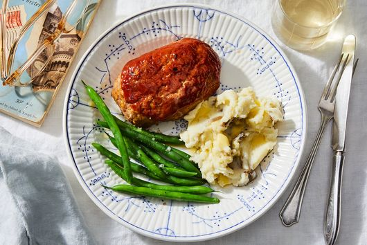 Gluten-Free Turkey Meatloaf With Cream & Oats