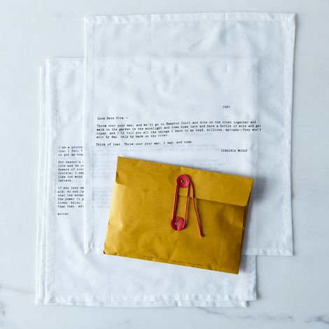 Love Letter Napkins (Set of 4)