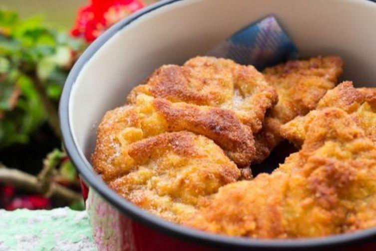 Panko Spiced Chicken Schnitzel
