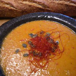 3 Cheese for Ale and Roasted Red Pepper Soup!