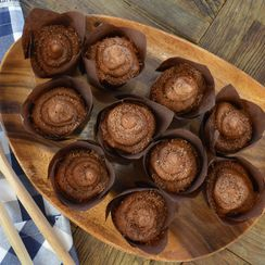 Chocolate Cupcakes with Chocolate Buttercream Frosting