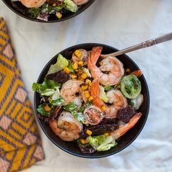 Shrimp Tortilla Salad