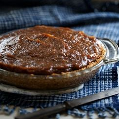 Salted Date Pie
